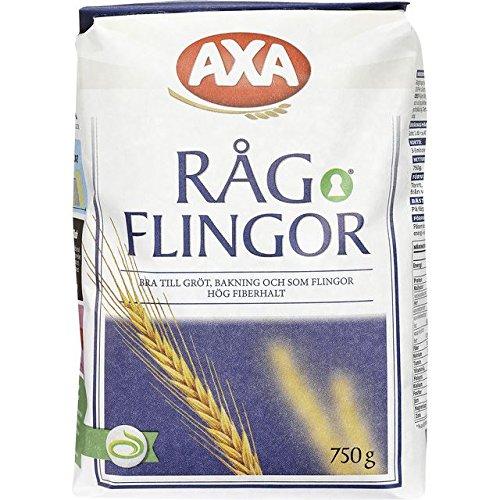 Axa Ragflingor - Rye Flakes - 750g Rye Flakes
