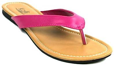 b708aa0a2ad Kali Footwear Girl s Cocoa-Jr. Flip Flop Flat Sandal (7 M US Toddler