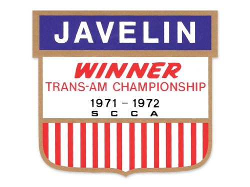 1973 AMC American Motors Javelin Trans Am Victory Fender Decals Kit - (Amc American Motors Javelin)