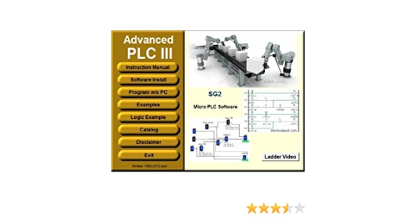 PLC III Virtual PLC Programming and Simulator Software Ladder and Logic  Function Easy Automation