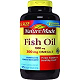 Cheap Nature Made Fish Oil 1000 mg. w. Omega-3 300 mg Softgels Value Size 175 Ct