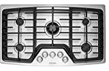 Electrolux EW36GC55PB 36' Gas Cooktop with 5 Sealed Burners,...