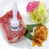 Skuleer(TM)Professional Meat Tenderizer with Stainless Steel Knives Kitchen Tools Cooking