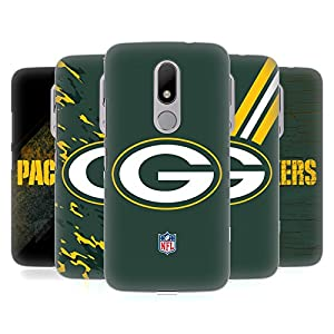 Official NFL Green Bay Packers Logo Hard Back Case for Motorola Moto M from Head Case Designs