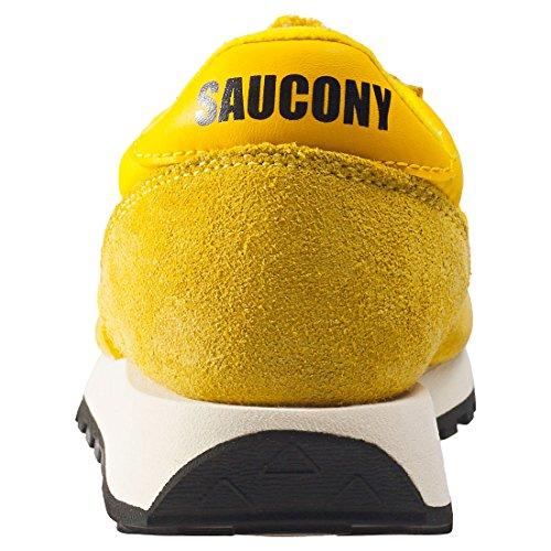 Saucony Men's Jazz O Vintage Cross Trainers, Black Yellow