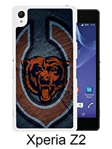 Chicago Bears 19 White Sony Xperia Z2 Screen Phone Case Durable and DIY Cover