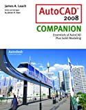 img - for AutoCAD 2008 Companion with AutoDESK 2008 Inventor DVD book / textbook / text book