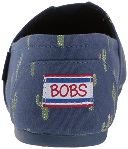 Skechers Bobs From Womens Bobs Plush-desert Dwell Ballet Flat Navy