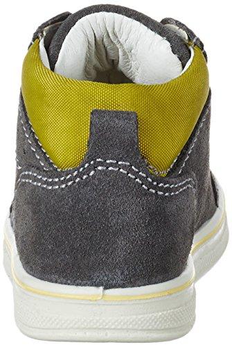 Lurchi Jessa - Botas de senderismo Bebé-Niñas Grau (Grey SENAPE)