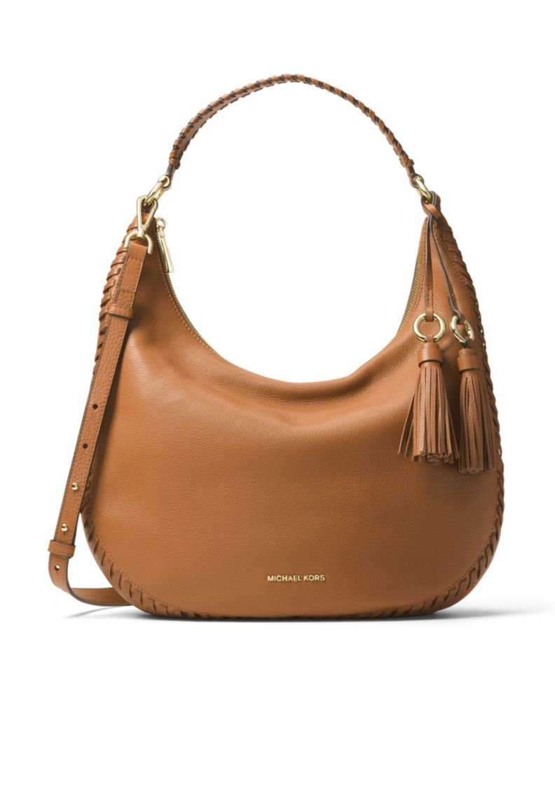 MICHAEL Michael Kors Lauryn Large Shoulder Tote (Acorn)