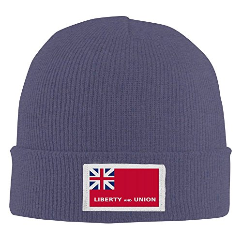 Liberty And Union Jack Men/Women Hip-hop Hat Beanie Knitted Cap Navy (Software Tax Liberty)