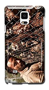 Tomhousomick Custom Design The Walking Dead Case for Samsung Galaxy Note 4 Phone Case Cover #90