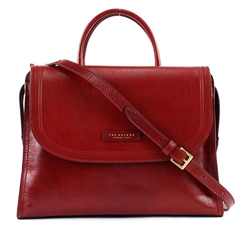Pearldistrict Rouge cm Sac 36 cuir main Bridge The à OzxHH8