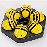 TTS Bee-bot Educational Robot Helps to Teach Algorithms | Improve Directional Language and Programming Skills | Rechargeable Docking Station - Pack of 6