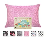 Little Sleepy Head Toddler Pillowcase - Cuddle Collection (alphabet Pink), 13