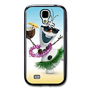 Frozen S4Q4SL0Z Caso funda Samsung Galaxy S4 Caso funda Negro