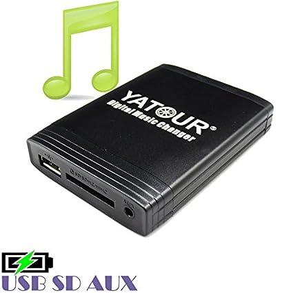 Für Mercedes Grundig Original Radio USB SD SDHC MP3 AUX In Interface CD Wechsler