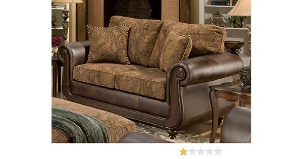 Amazon.com: Chelsea Home Furniture Oneida Loveseat, Isle ...