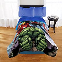 Avengers Twin/Full Comforter with Sherpa Reverse #891009632