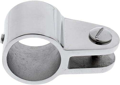 MagiDeal Rohr Klemme Rohrschelle f/ür Boots Tube Clamp F/ür 25mm Au/ßendurchmesser Rohr Sonnenverdeck Sonnensegel Bimini Top Befestigung Schelle