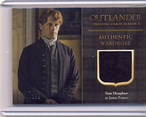 2018 Outlander Season 3 Trading Cards Wardrobe Card CE2 Sam Heughan as Jamie Fraser