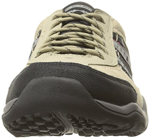 Skechers Mens Larson Alton Oxford Taupe