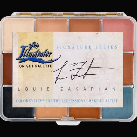 PPI Skin Illustrator On Set Signature Series Louie Zakarian Makeup Palette (Ppi Series)