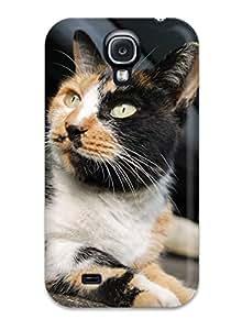 Lucas B Schmidt's Shop New Arrival Galaxy S4 Case Orange And Black Cat Looking U Case Cover U2F3H58LELGA4050