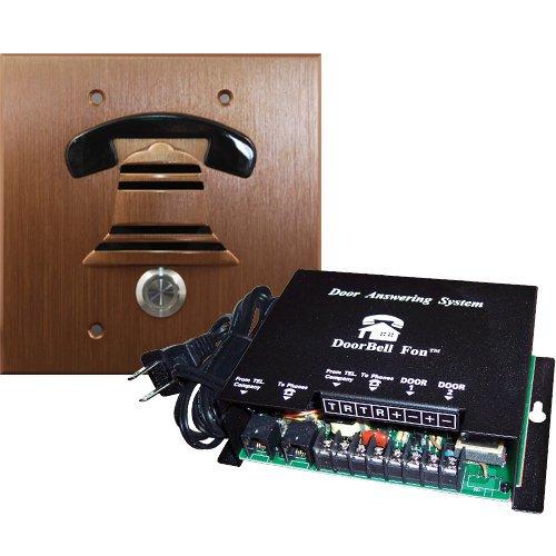 DoorBell Fon DP38BZF 2-Gang Door Station Kit - Bronze - 2 Gang Door Station