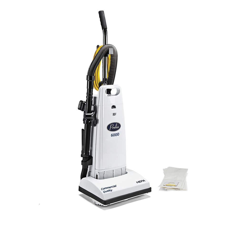 Prolux 6000 Upright Commercial Vacuum with HEPA Filter by Prolux