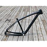 flyxii UD - Bicicleta de montaña (Carbono, Mate, 29 Unidades, para Bicicleta de montaña, 15,5 Pulgadas (para BSA) + Eje Transversal 142 x 12 mm)