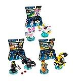 LEGO Dimensions Lego Movie Fun Pack 3 Piece Variety Bundle; Emmet Fun Pack, Bad Cop Fun Pack, Unikitty Fun Pack