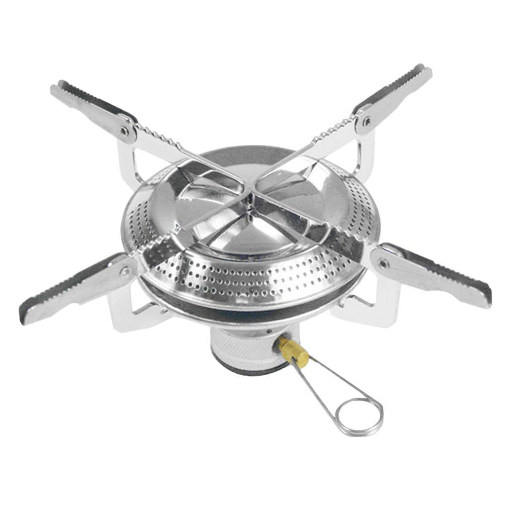 Baosity Backpacking Camping Stoves,Portable Propane Stove Camp Kitchen Stove for Outdoor Activities