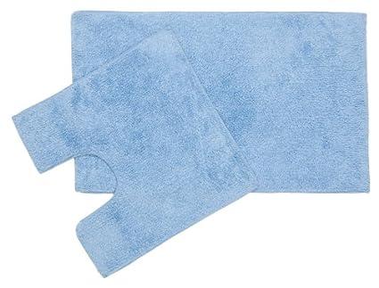 William Armes Dandy - Set di tappeti bagno con tappeto e giro WC ...