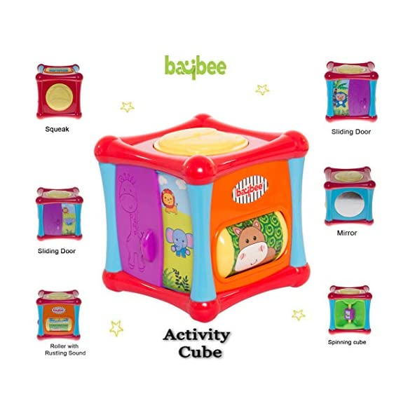 Baybee Baby Educational Activity Toys for Kids Toys for 2 Year Old Boys and Girls, Educational Kids Activity Toys for 2 Year Old, Learning House – Baby Birthday Gift for 1-3 Years Old Boy Girl Child