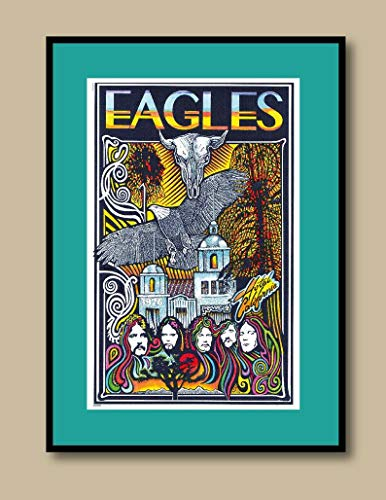 hotel california eagles poster - 8