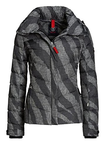 Bogner Fire + Ice Sally-D Down Ski Jacket Womens, 8, Black Print