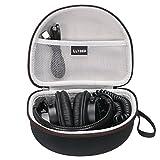 LTGEM EVA Hard Case for Sony MDR7506 & MDRV6 Professional Large Diaphragm Headphone - Travel Protective Carrying Storage Bag