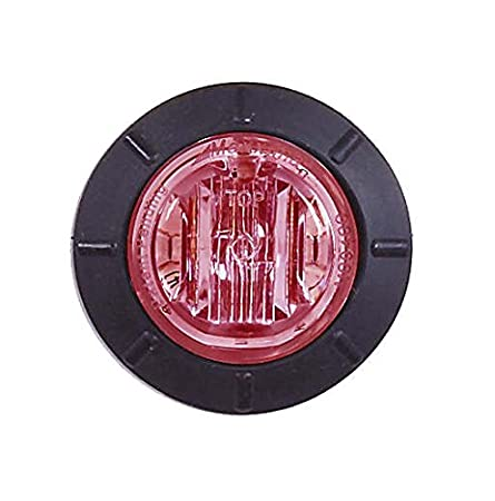 Maxxima M09400R Red 1.25 Round LED Clearance Mini Marker Light
