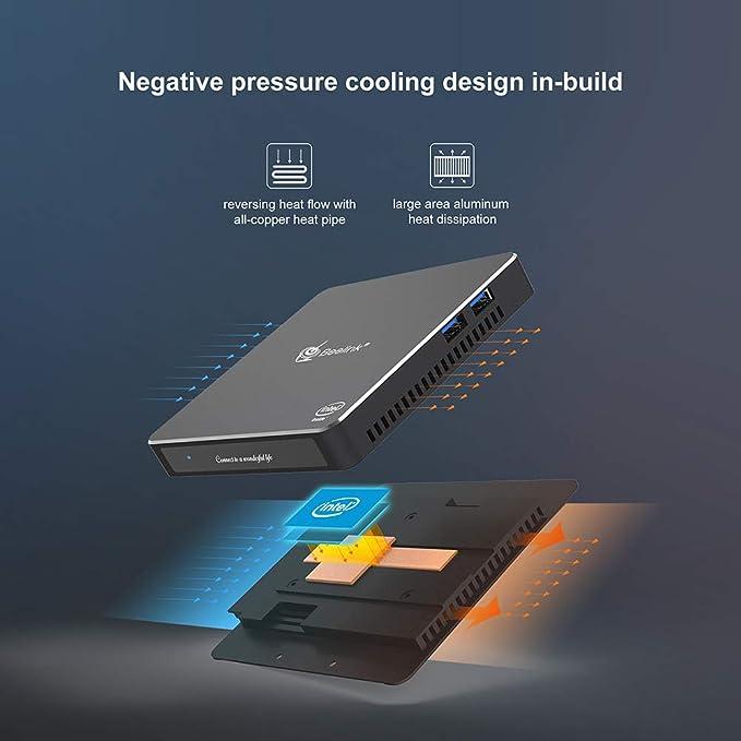 Beelink Gemini X55 Intel Windows 10 Mini PC vídeo Juego: Amazon.es ...