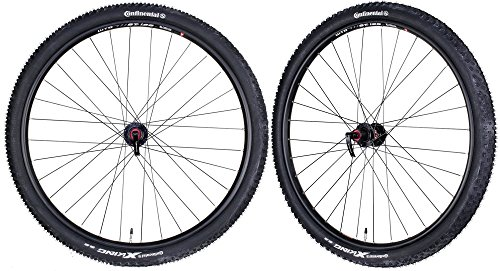 "CyclingDeal WTB STP i25 Mountain Bike Bicycle Novatec Hubs & Tires Wheelset 11s 29"" QR"