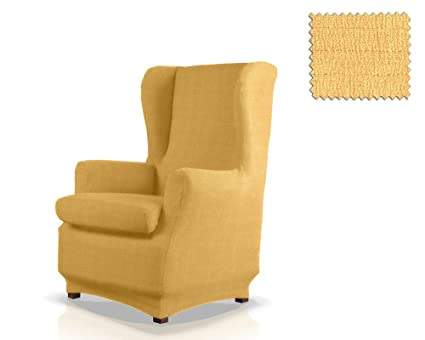 Fodere Per Poltrone Bergere.Jm Textil Copripoltrona Con Orecchie Elastico Bastet Dimensione 1 Posto Standard Colore 05 Vari Colori Disponibili