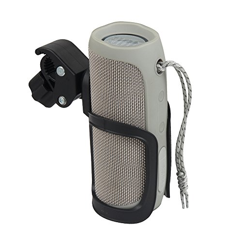 Hermitshell Hard Bike Mount Holder with Clamp Fits JBL Flip 4/3 Bluetooth Speaker
