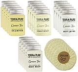 Terra Pure Green Tea All-In-Kit Hotel/Vacation Rental Hotel Soap Amenities Set (300 pcs)