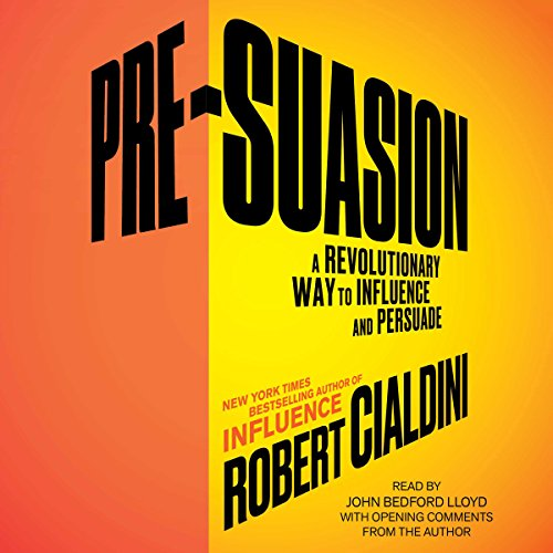 Pre-Suasion: Channeling Attention for Change Audiobook [Free Download by Trial] thumbnail