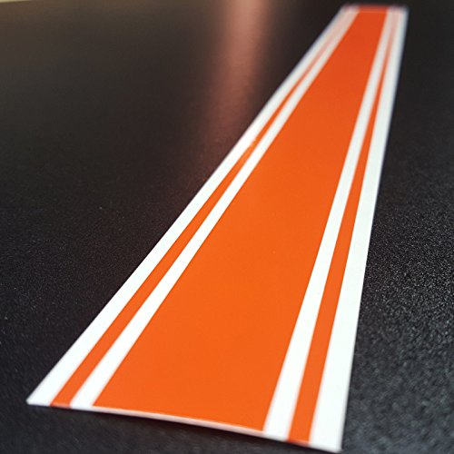Vinyl Racing Stripe Oracal Orange product image