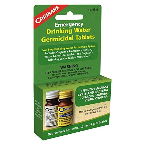 Coghlans 9586 Two Step Drinking Water Treatment ()