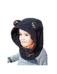 Azarxis Kids Full Face Mask Balaclavas Hat Hood Fleece Thermal Windproof Cap