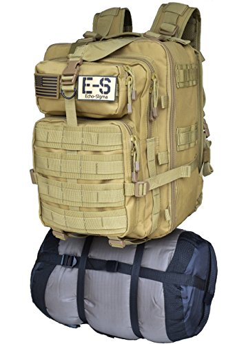 Price comparison product image 9005644 Echo-Sigma Emergency Bug Out Bag Coyote