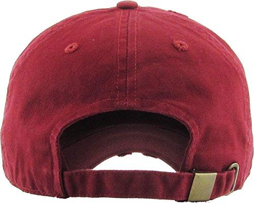 d74713a0 ... KBETHOS Vintage Washed Distressed Cotton Dad Hat Baseball Cap  Adjustable Polo Trucker Unisex Style Headwear ...